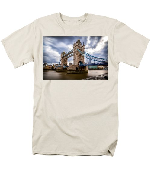 The Three Towers Men's T-Shirt  (Regular Fit) by Giuseppe Torre