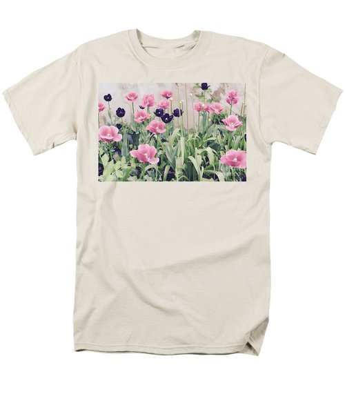 The Tulip Garden Men's T-Shirt  (Regular Fit) by Jeannie Rhode