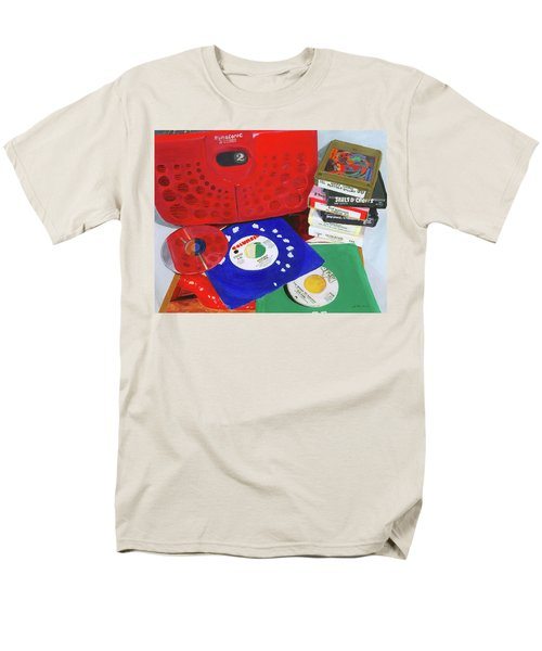 Men's T-Shirt  (Regular Fit) featuring the painting The Universal Language by Lynne Reichhart