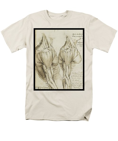 The Upper Arm Muscles Men's T-Shirt  (Regular Fit) by James Christopher Hill