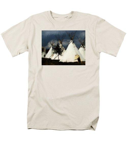 Men's T-Shirt  (Regular Fit) featuring the photograph The Village by John Freidenberg