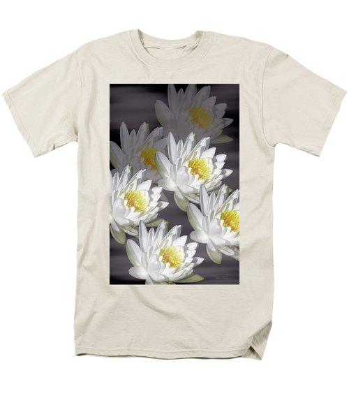 The White Garden Men's T-Shirt  (Regular Fit) by Rosalie Scanlon