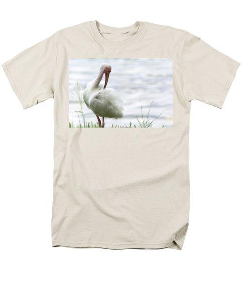 The White Ibis  Men's T-Shirt  (Regular Fit) by Saija  Lehtonen