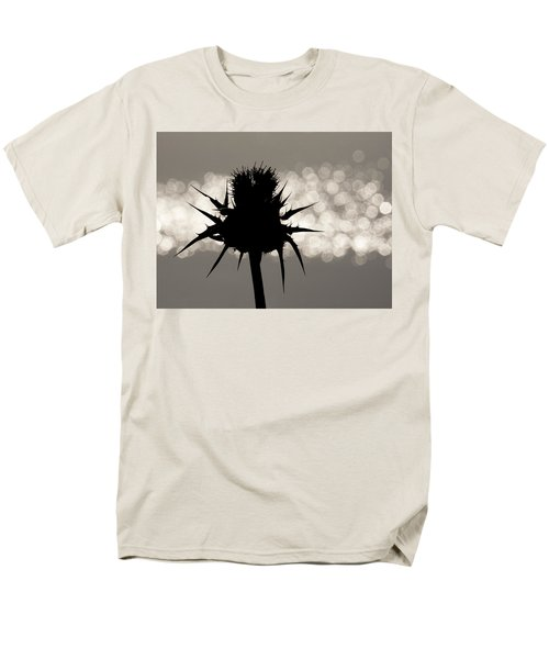 Thistle Silhouette - 365-11 Men's T-Shirt  (Regular Fit) by Inge Riis McDonald