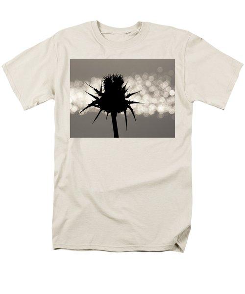 Thistle Silhouette - 365-11 Men's T-Shirt  (Regular Fit)