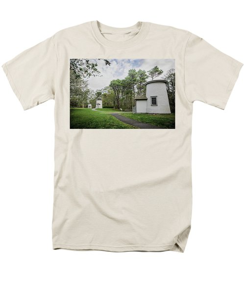 Three Sisters Lighthouses Men's T-Shirt  (Regular Fit) by Patrice Zinck