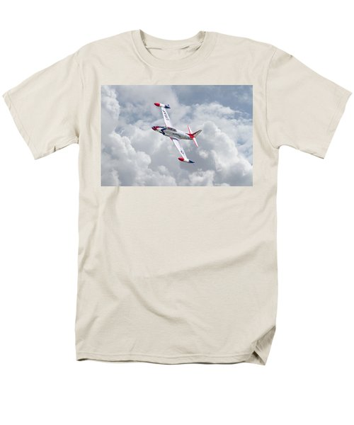 Men's T-Shirt  (Regular Fit) featuring the photograph Thunderbirds - T33 by Pat Speirs