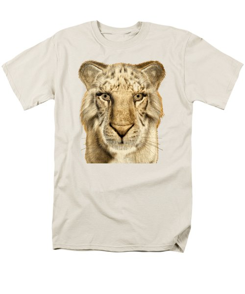 Men's T-Shirt  (Regular Fit) featuring the painting Tigers by Methune Hively
