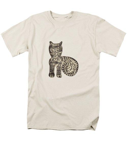 Tin Cat Men's T-Shirt  (Regular Fit)