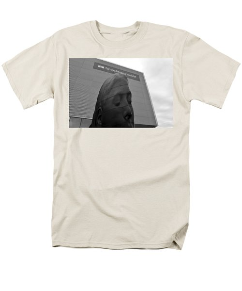 Men's T-Shirt  (Regular Fit) featuring the photograph Tampa Museum Of Art Work B by David Lee Thompson