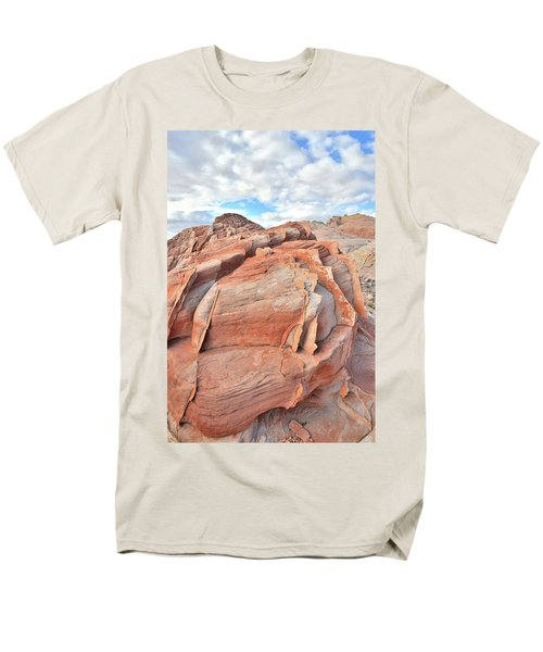 Top Of The World At Valley Of Fire Men's T-Shirt  (Regular Fit) by Ray Mathis