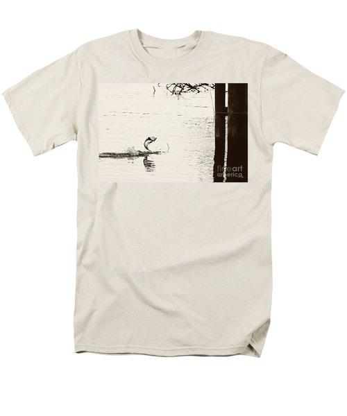 Top Water Explosion Men's T-Shirt  (Regular Fit) by Scott Pellegrin