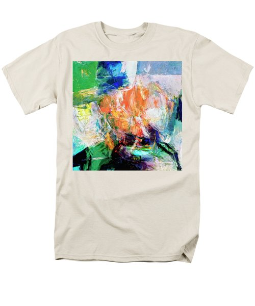 Men's T-Shirt  (Regular Fit) featuring the painting Transformer by Dominic Piperata