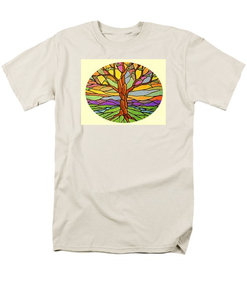 Tree Of Grace 2 Men's T-Shirt  (Regular Fit) by Jim Harris