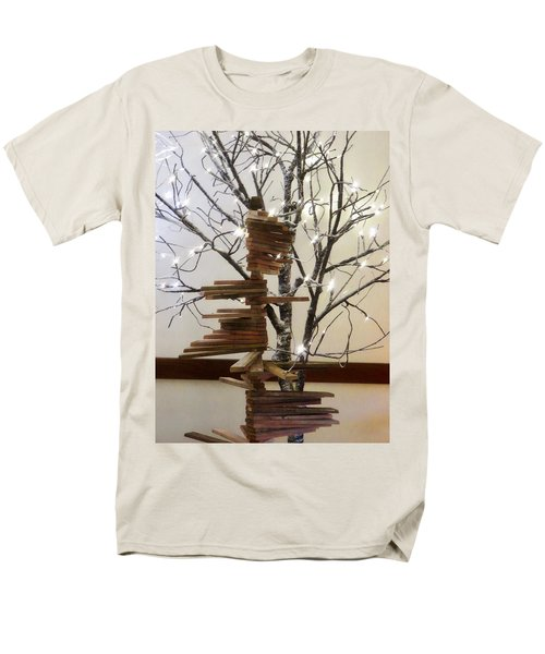 Tree Of Lights Men's T-Shirt  (Regular Fit) by Robin Regan