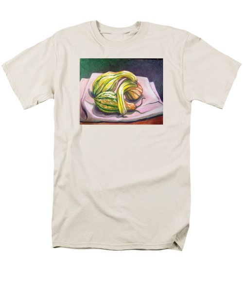 Men's T-Shirt  (Regular Fit) featuring the painting Gourd Grouping by Laura Aceto
