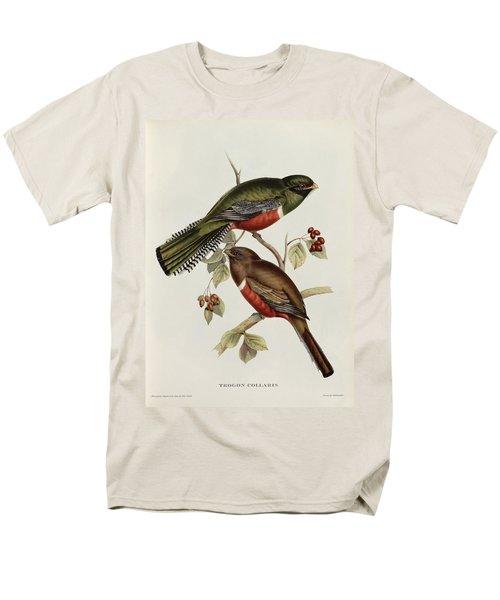 Trogon Collaris Men's T-Shirt  (Regular Fit) by John Gould