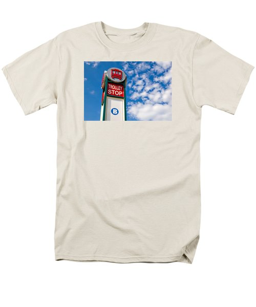 Trolley Stop Men's T-Shirt  (Regular Fit)