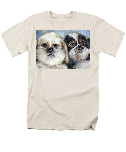 Trouble And Lexi Men's T-Shirt  (Regular Fit) by Bernadette Krupa