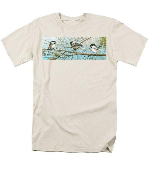 Troublesome Trio Men's T-Shirt  (Regular Fit)