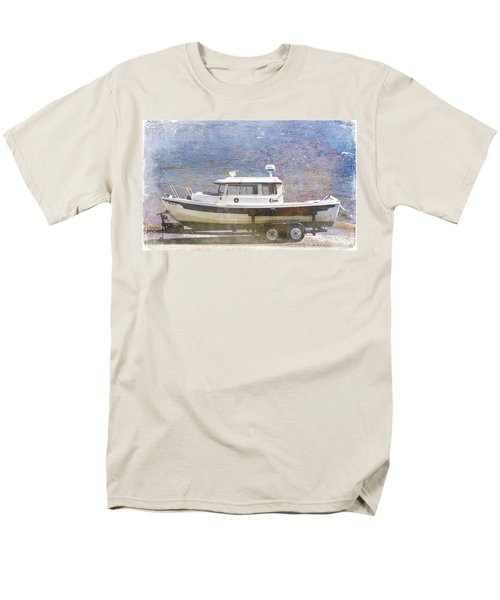 Tugboat Men's T-Shirt  (Regular Fit) by Cynthia Powell