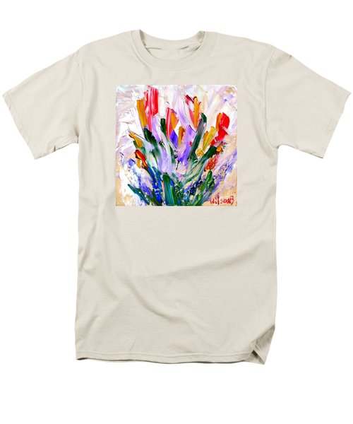 Tulips Men's T-Shirt  (Regular Fit) by Fred Wilson