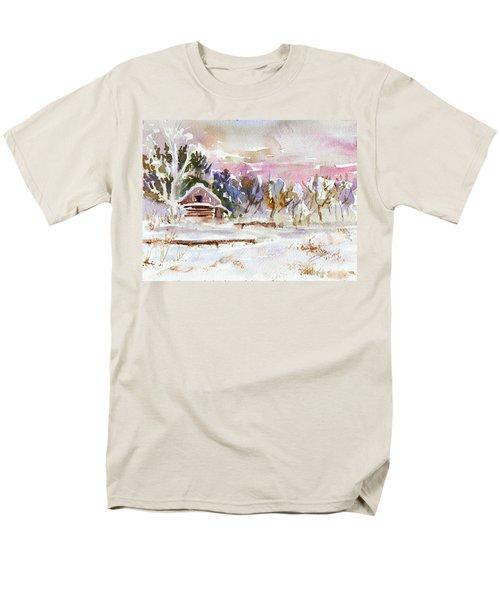 Twilight Serenade I Men's T-Shirt  (Regular Fit) by Xueling Zou