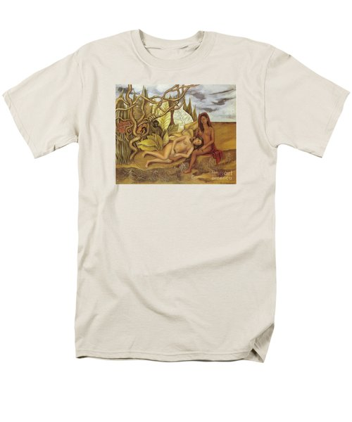 Two Nudes In The Forest Men's T-Shirt  (Regular Fit) by Frida Kahlo