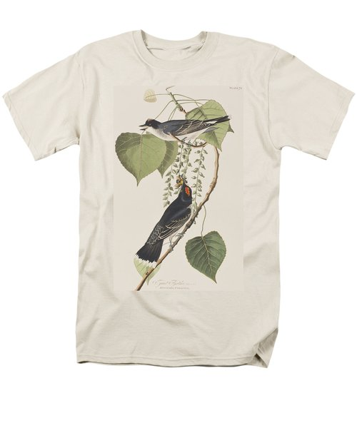 Tyrant Fly Catcher Men's T-Shirt  (Regular Fit) by John James Audubon