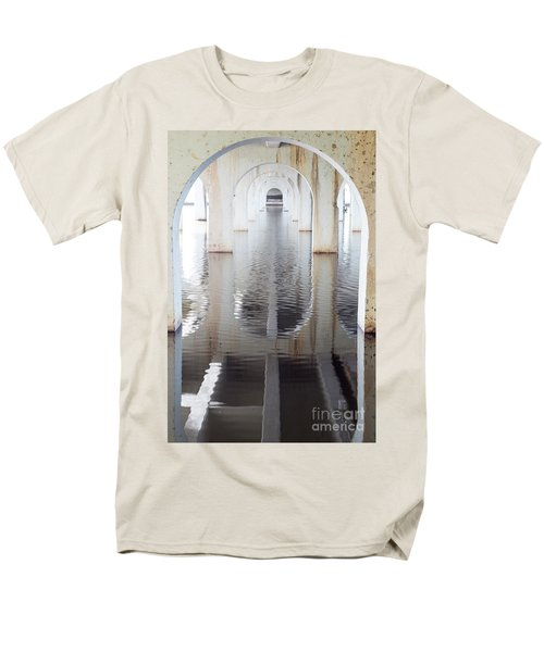 Men's T-Shirt  (Regular Fit) featuring the photograph Under The Bridge by Linda Lees