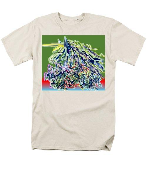 Unicorn Men's T-Shirt  (Regular Fit) by Belinda Threeths