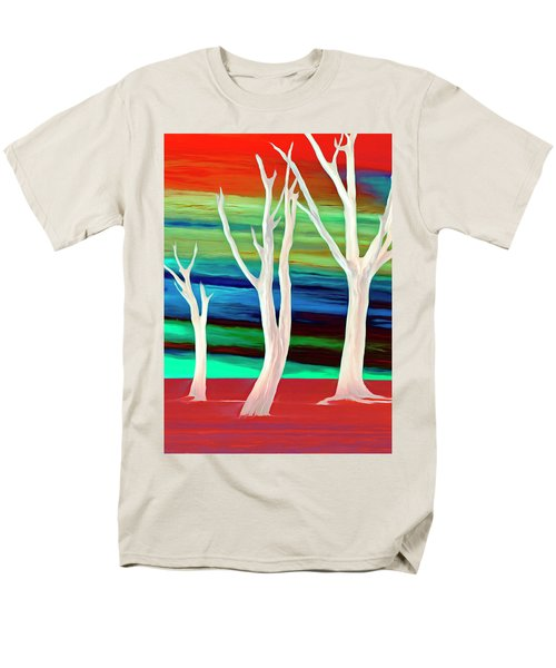 Men's T-Shirt  (Regular Fit) featuring the photograph United Trees by Munir Alawi