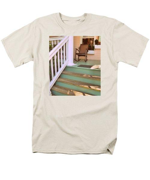 Up The Steps Men's T-Shirt  (Regular Fit)