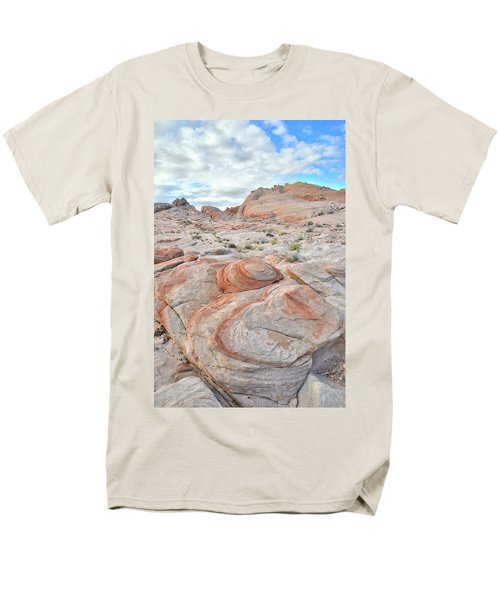Valley Of Fire Beehives Men's T-Shirt  (Regular Fit) by Ray Mathis