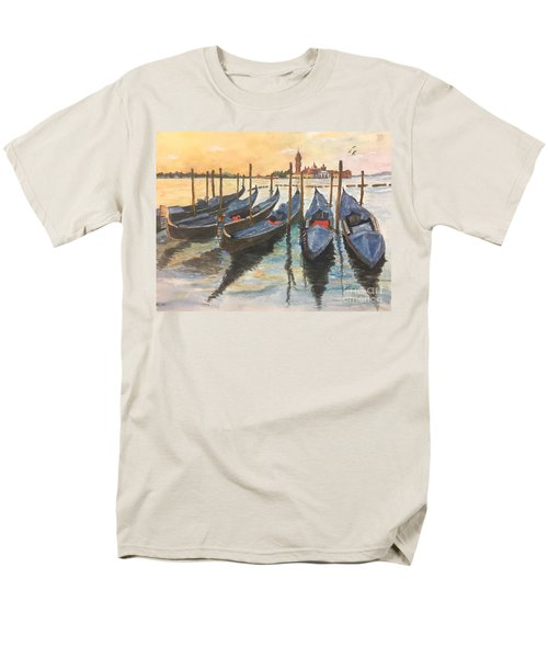 Men's T-Shirt  (Regular Fit) featuring the painting Venice by Lucia Grilletto