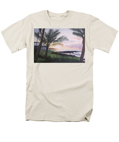 Men's T-Shirt  (Regular Fit) featuring the painting Version 2 by Teresa Beyer