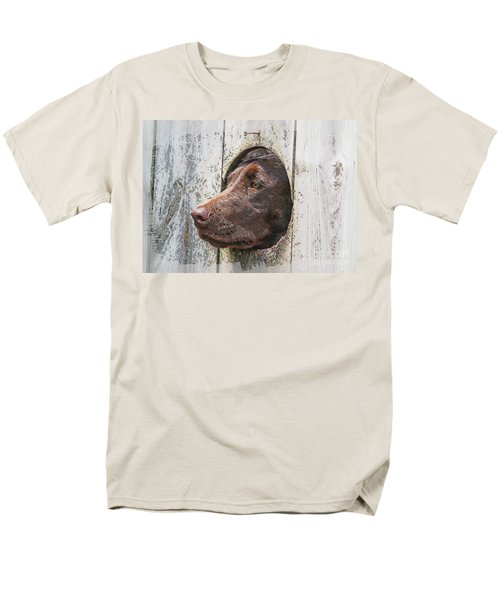 Men's T-Shirt  (Regular Fit) featuring the photograph Waiting On Master by Robert Pearson