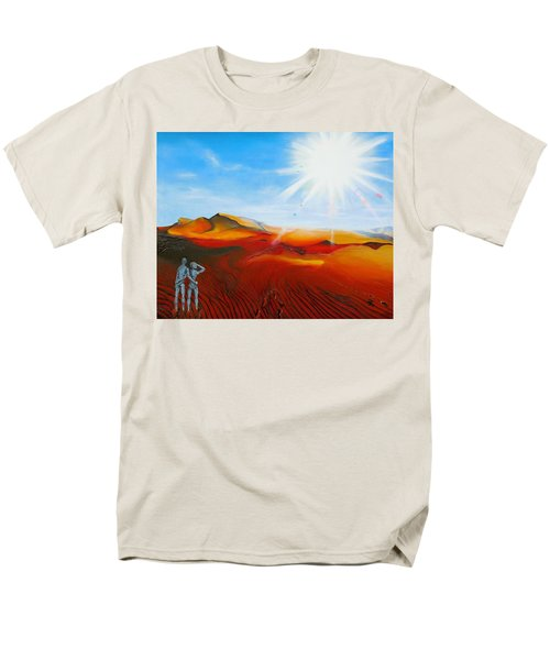 Walk A Mile Men's T-Shirt  (Regular Fit) by Raymond Perez