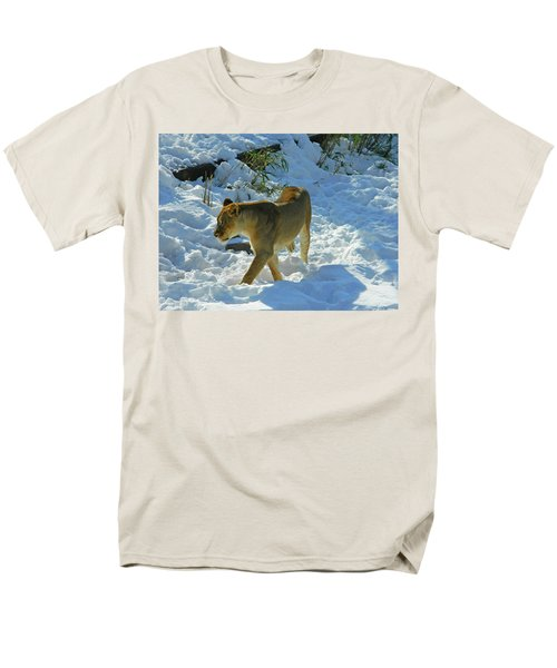 Walking On The Wild Side Men's T-Shirt  (Regular Fit) by Emmy Marie Vickers