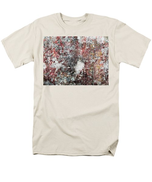 Wall Abstract 103 Men's T-Shirt  (Regular Fit) by Maria Huntley