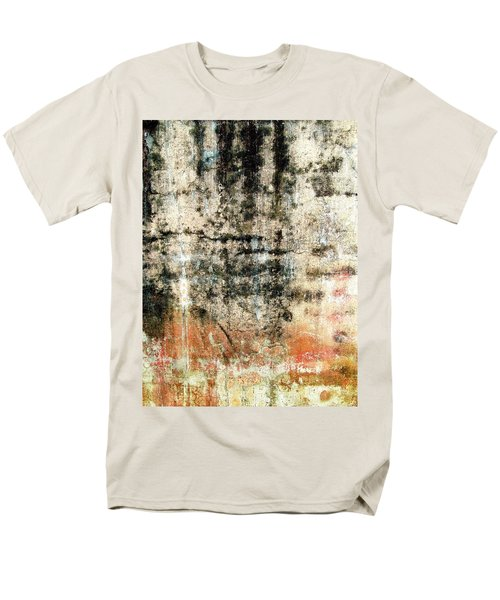 Wall Abstract 182 Men's T-Shirt  (Regular Fit) by Maria Huntley