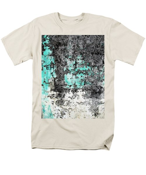 Wall Abstract 185 Men's T-Shirt  (Regular Fit) by Maria Huntley