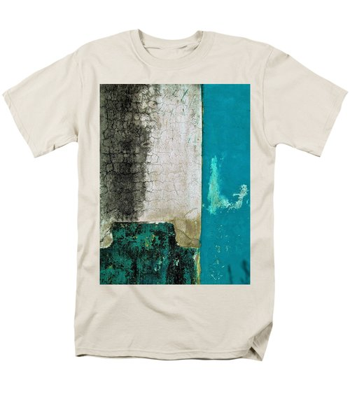 Wall Abstract 296 Men's T-Shirt  (Regular Fit) by Maria Huntley