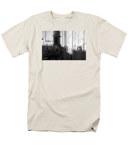 Wall Pipe Shadows Men's T-Shirt  (Regular Fit) by Catherine Lau
