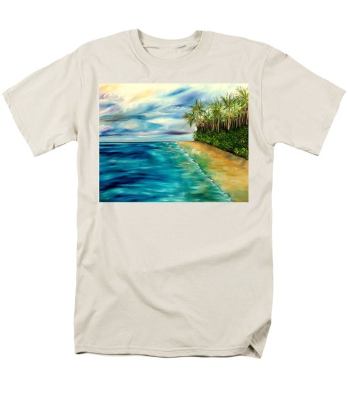 Wandering Through Turquoise Days Men's T-Shirt  (Regular Fit) by Lisa Aerts