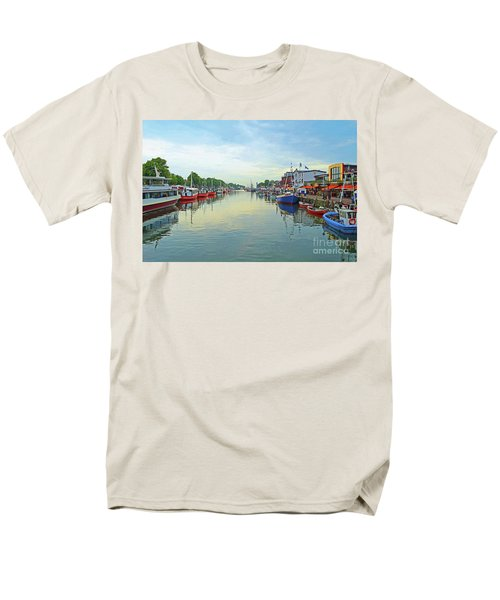 Warnemunde Germany Port Men's T-Shirt  (Regular Fit) by Eva Kaufman