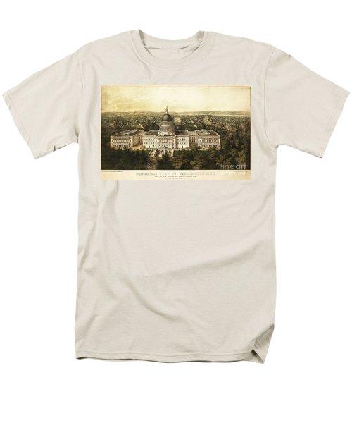 Washington City 1857 Men's T-Shirt  (Regular Fit) by Jon Neidert