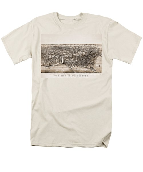 Washington D.c., 1892 Men's T-Shirt  (Regular Fit) by Granger