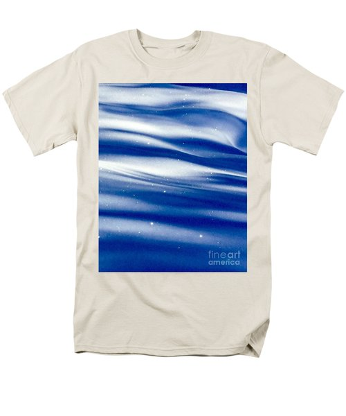 Waves Of Diamonds Men's T-Shirt  (Regular Fit) by Jennifer Lake
