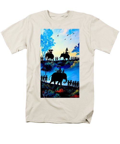 We March At Sunrise  Men's T-Shirt  (Regular Fit) by Ian Gledhill